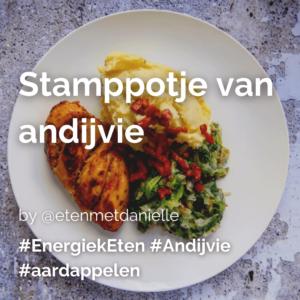 Stamppotje van andijvie @etenmetdanielle