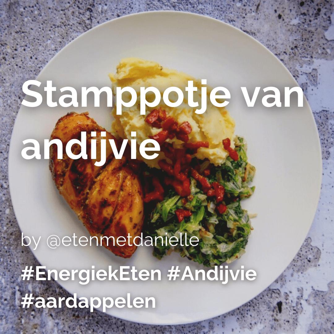 Lees meer over het artikel Stamppotje van andijvie @etenmetdanielle