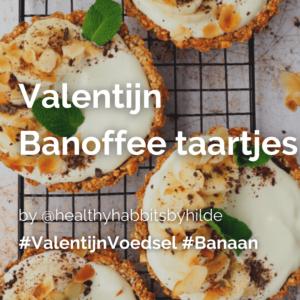 Valentijn special: Banoffee taartjes @healthyhabbitsbyhilde