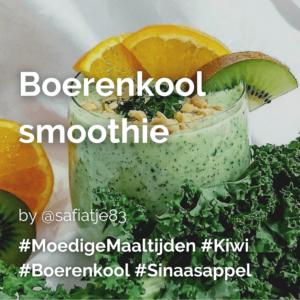 Lees meer over het artikel Boerenkool smoothiebowl @safiatje83