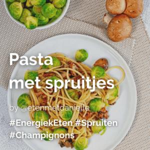 Pasta met spruitjes @etenmetdanielle