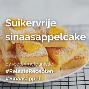 Suikervrije sinaasappelcake @etenmetdanielle