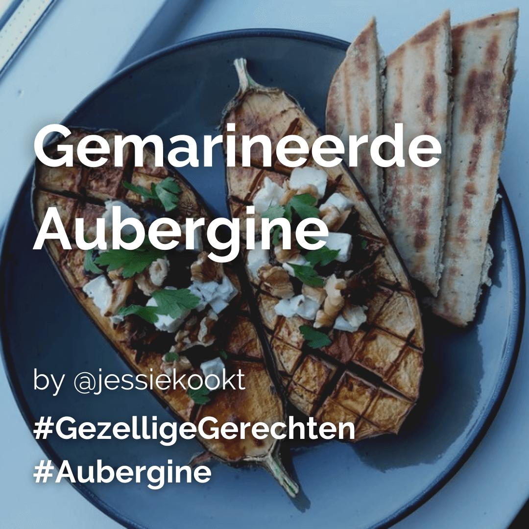Lees meer over het artikel Gemarineerde aubergine @jessiekookt