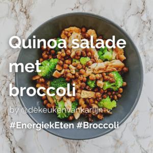 Quinoa salade met broccoli @dekeukenvankarlijn
