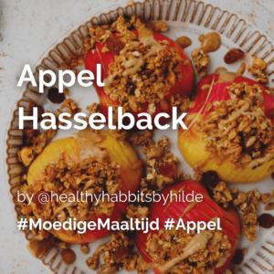 Lees meer over het artikel Appel hasselback @healthyhabbitsbyhilde