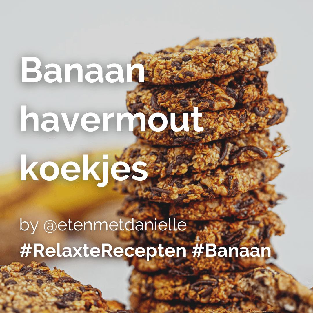 Je bekijkt nu Banaan havermout koekjes @etenmetdanielle