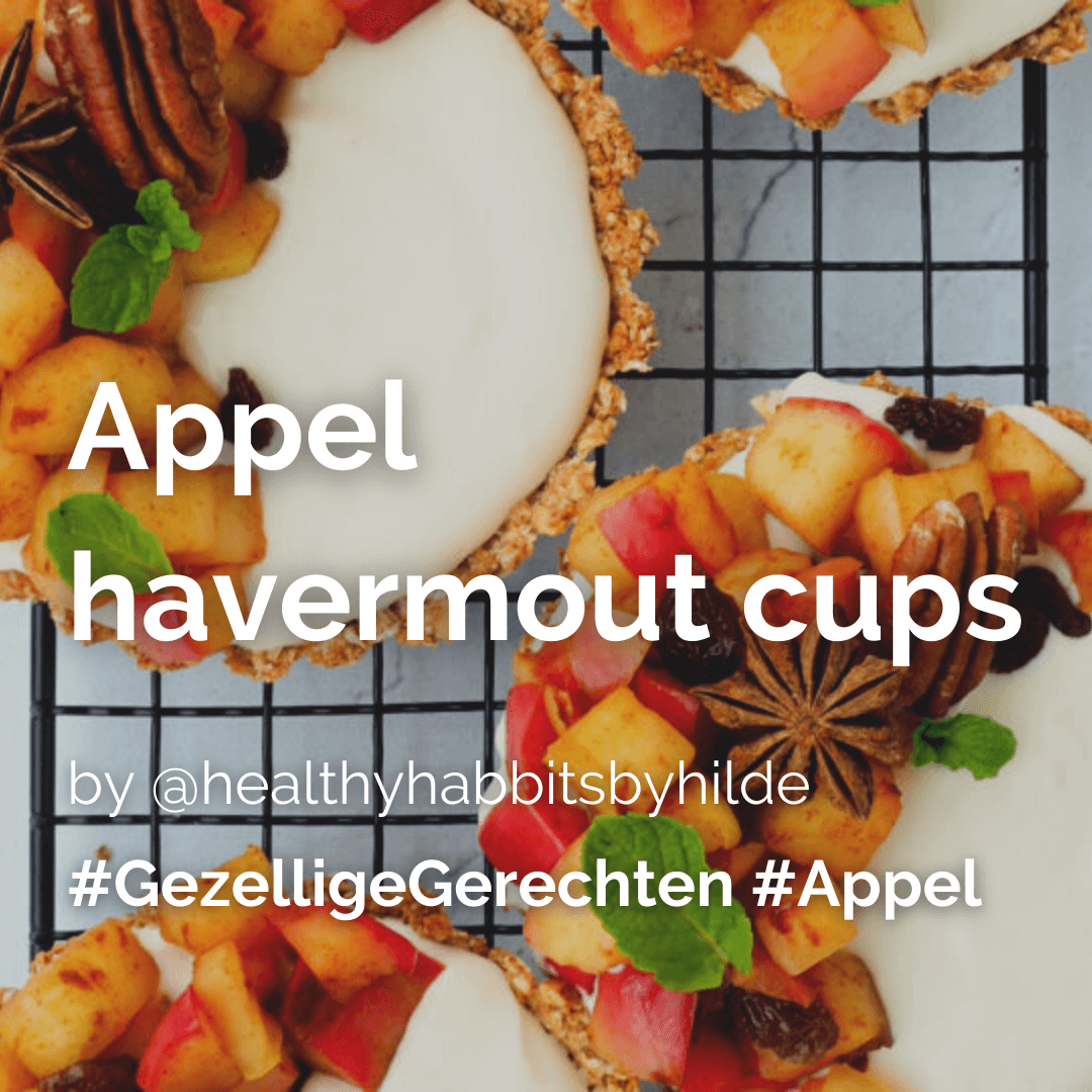 Appel havermout cups @healthyhabbitsbyhilde