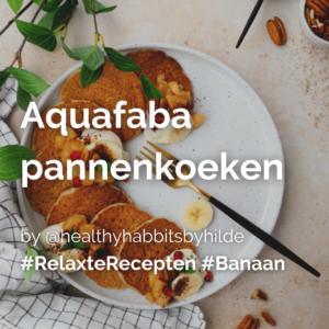 Lees meer over het artikel Aquafaba pannenkoeken met banaan @healthyhabbitsbyhilde