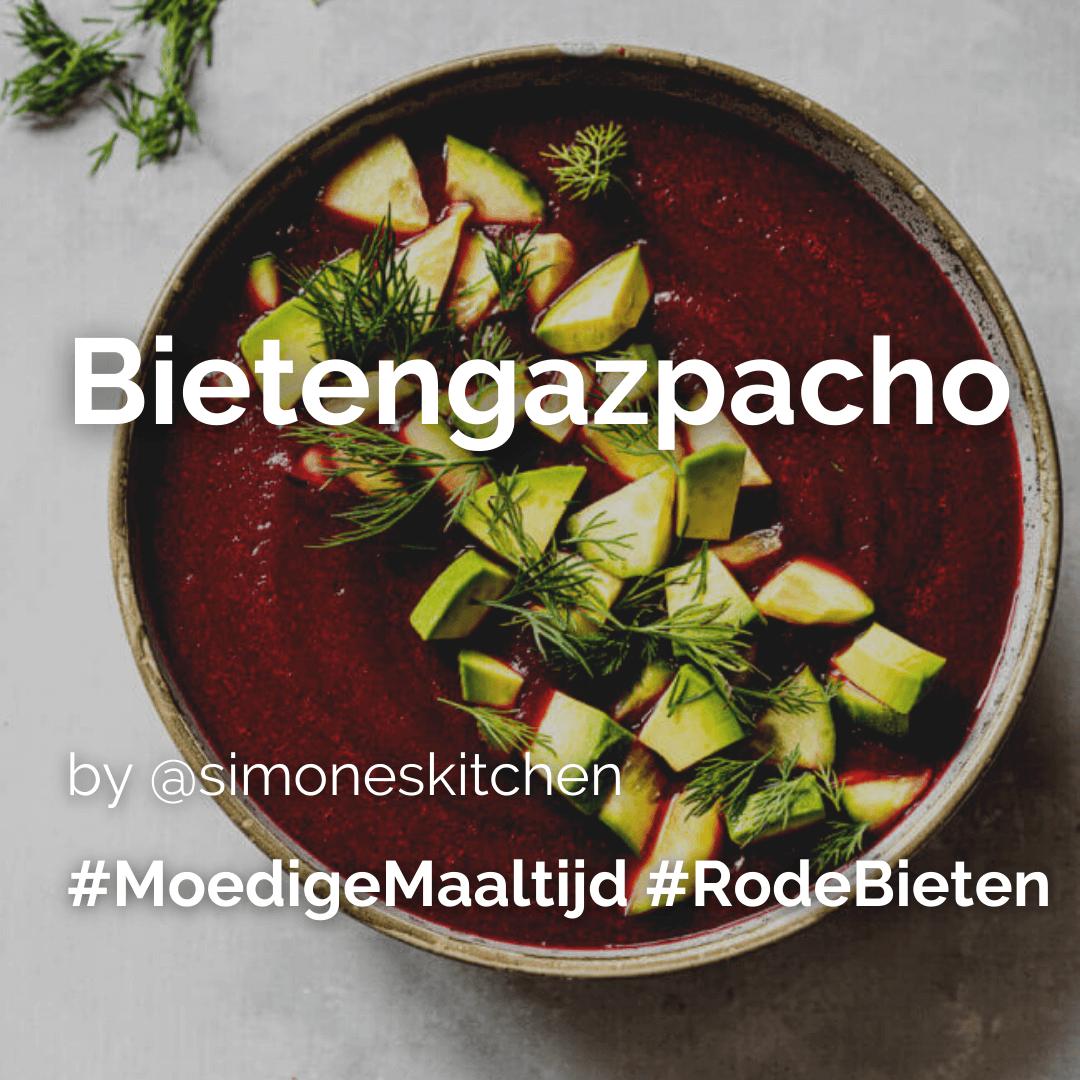 Lees meer over het artikel Bietengazpacho @simoneskitchen