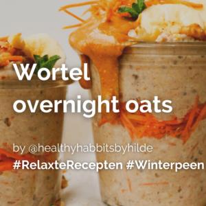 Lees meer over het artikel Wortel overnight oats @healthyhabbitsbyhilde