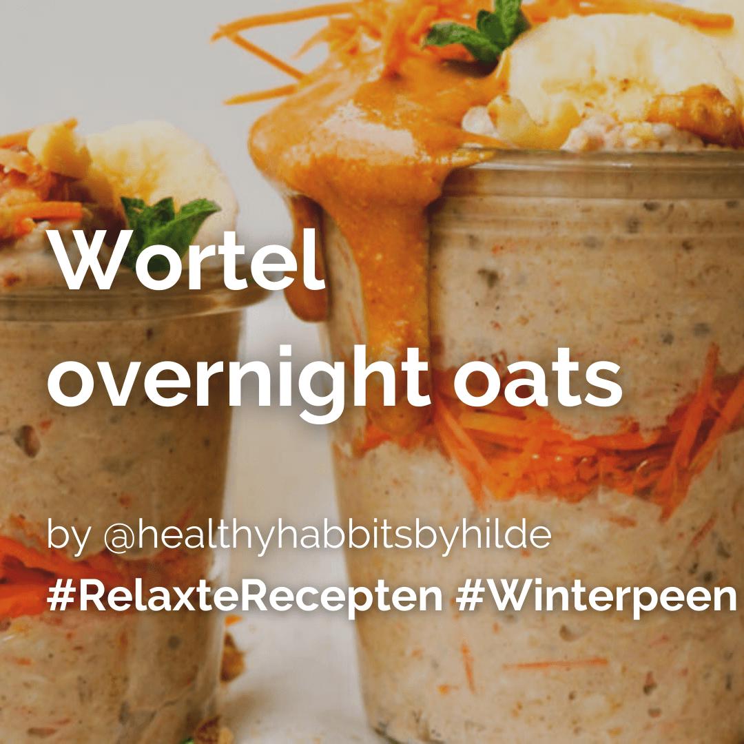Je bekijkt nu Wortel overnight oats @healthyhabbitsbyhilde